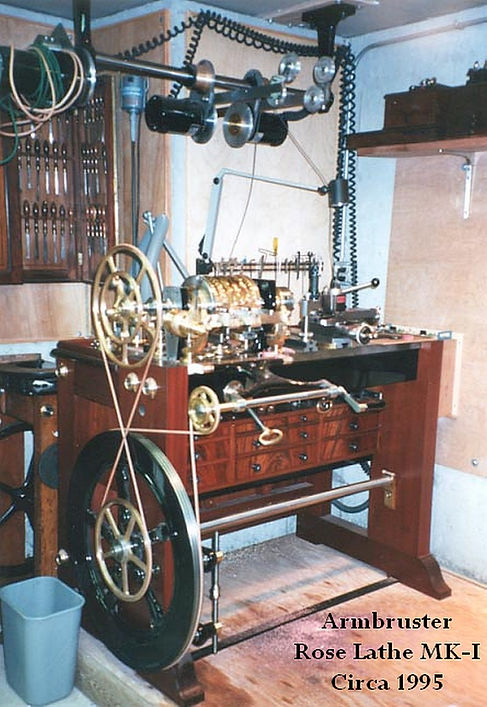 Holtzapffel Rose Engine Lathe