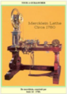 Mercklein Lathe, Rose Engine