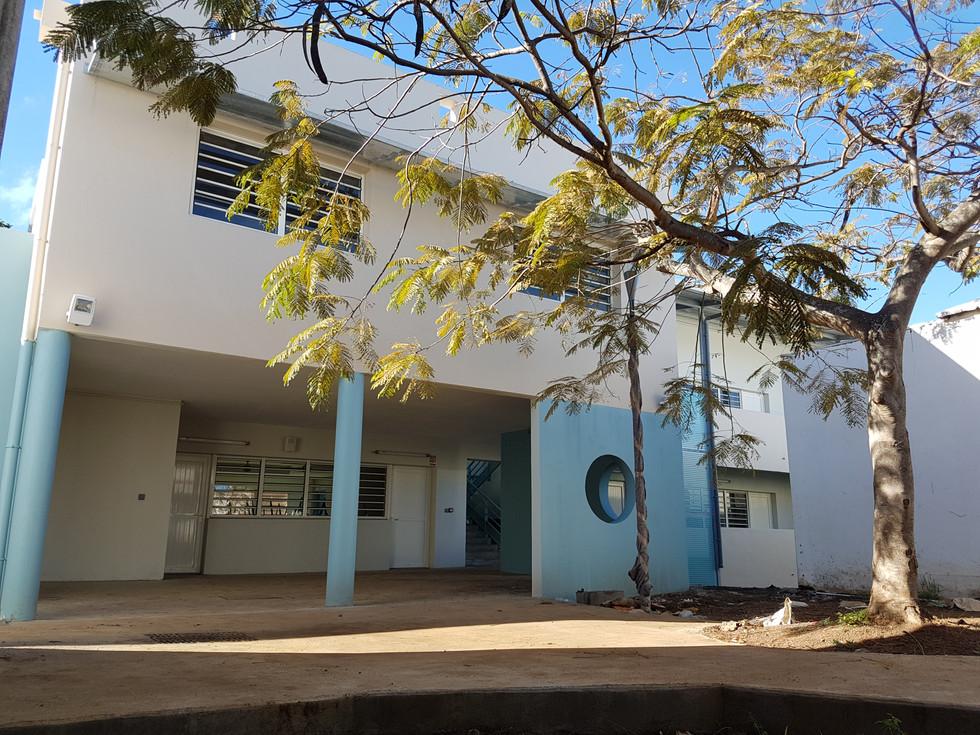 Réalisation de salles de classes Lycée