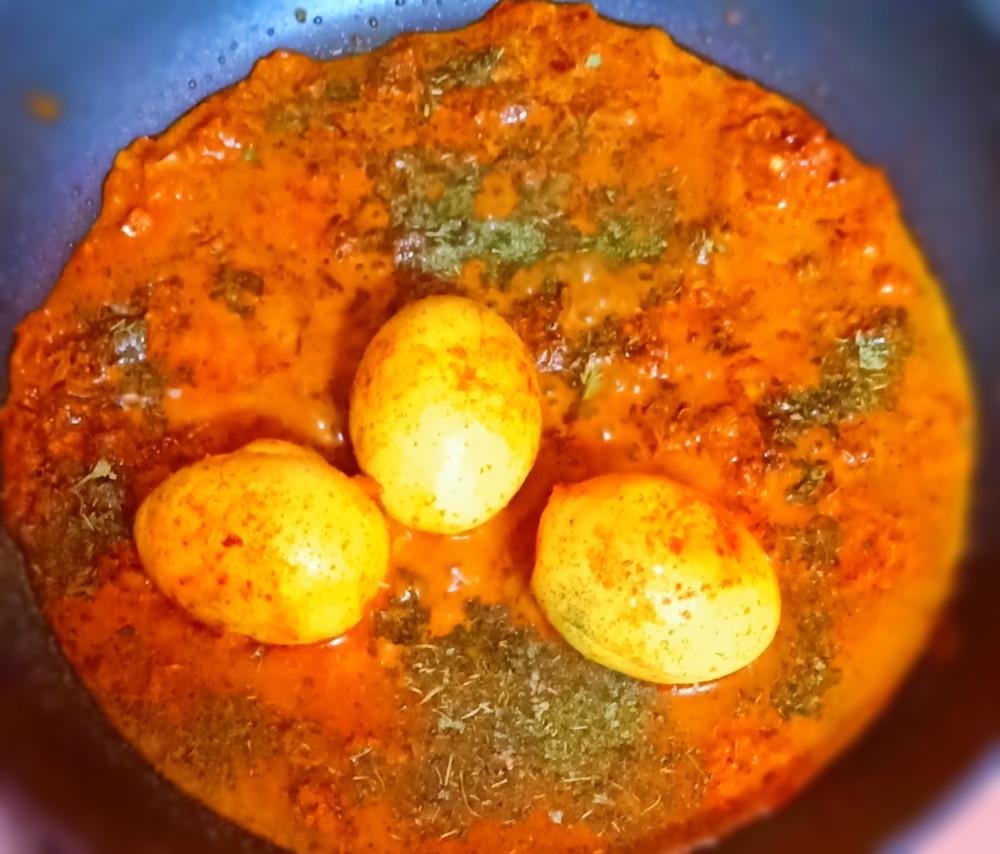 Egg Masala | Egg Masala Curry | Egg Masala Gravy Restaurant Style | Egg Gravy by Sandipta's Cookery
