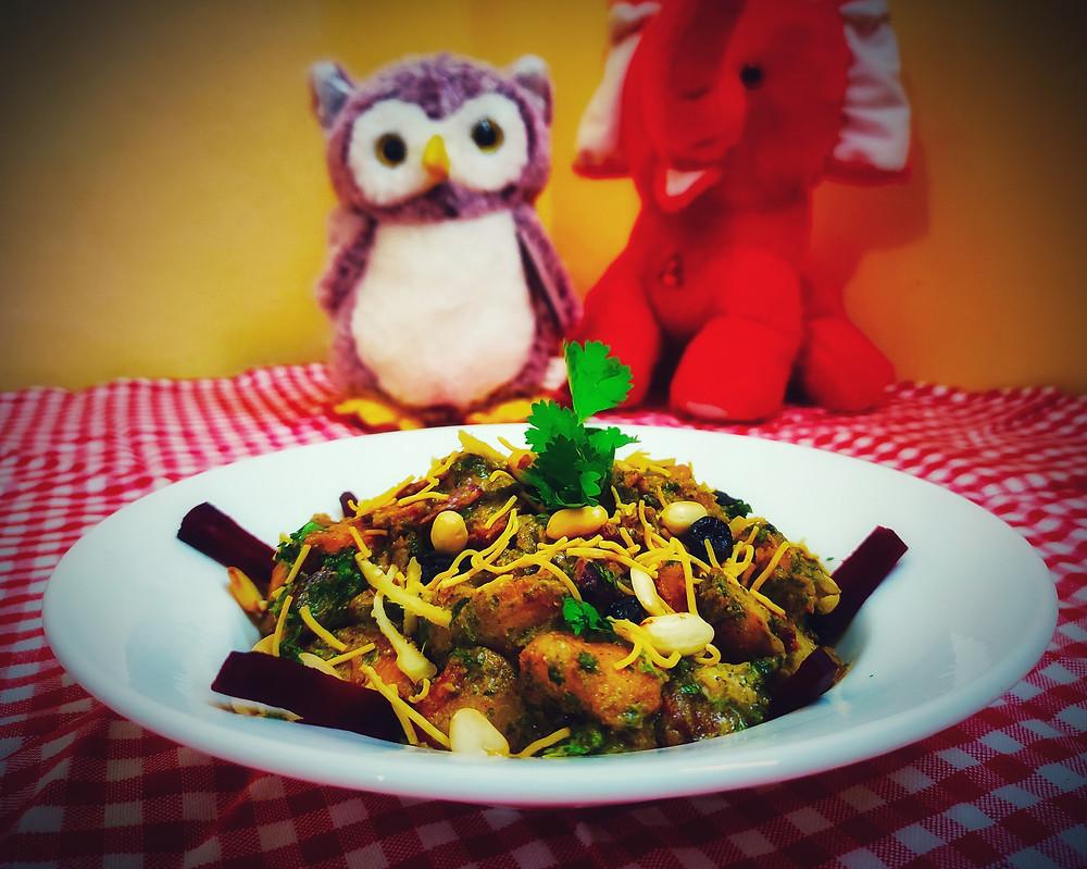 Aloo Tuk Chaat Recipe | Chatpata aloo tuk  Bengali Recipe | Recipeuwish |  by Sandipta Sinha