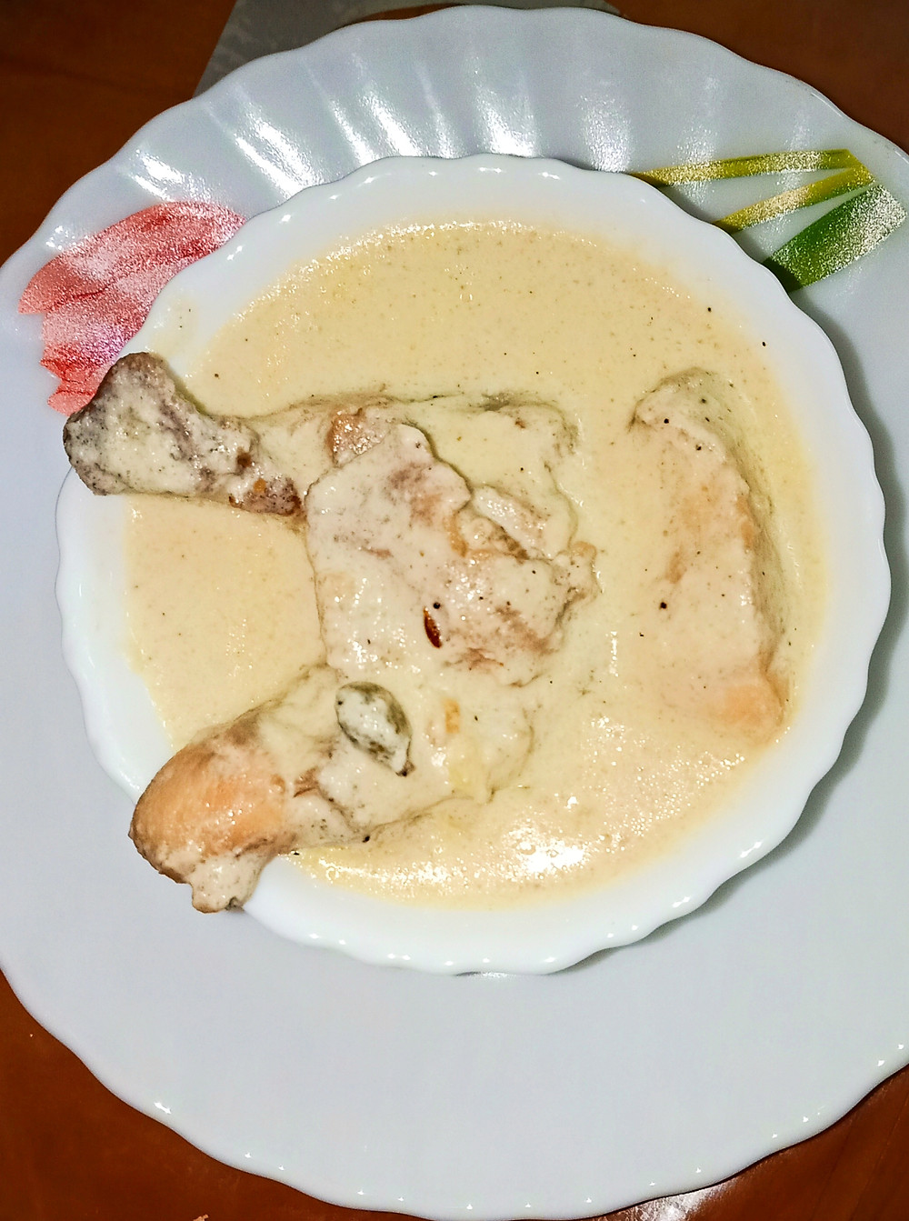 Chicken with Malai, Malai Chicken, Punjabi Chicken
