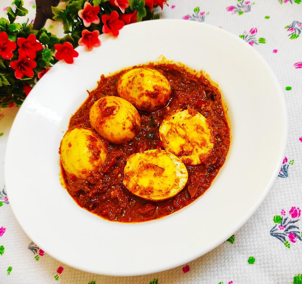 Egg Curry Recipe | Egg Masala Curry | Egg Masala Gravy | Spicy Egg Curry | by Sandipta Sinha