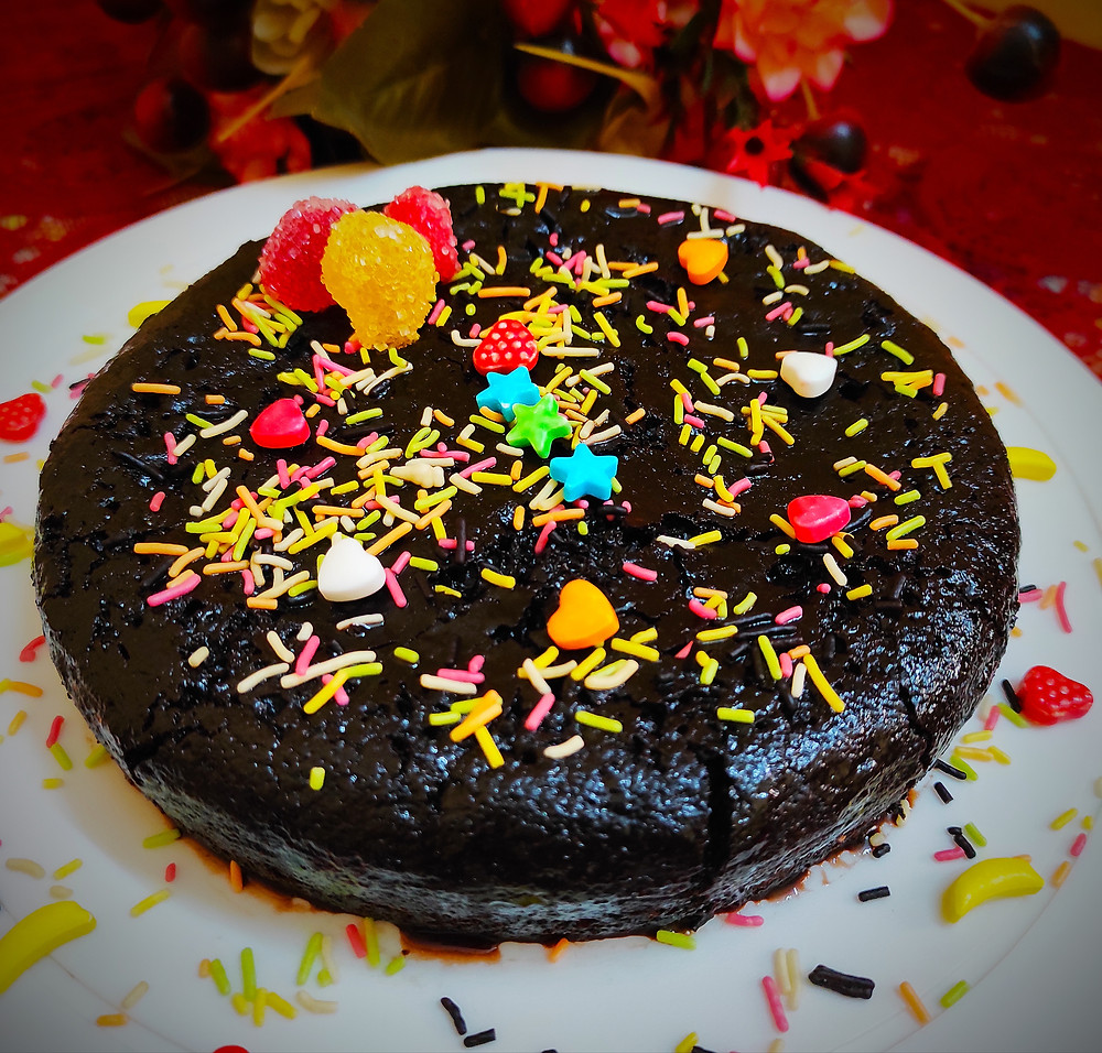 Home made Chocolate Mud Cake by Sandipta Sinha