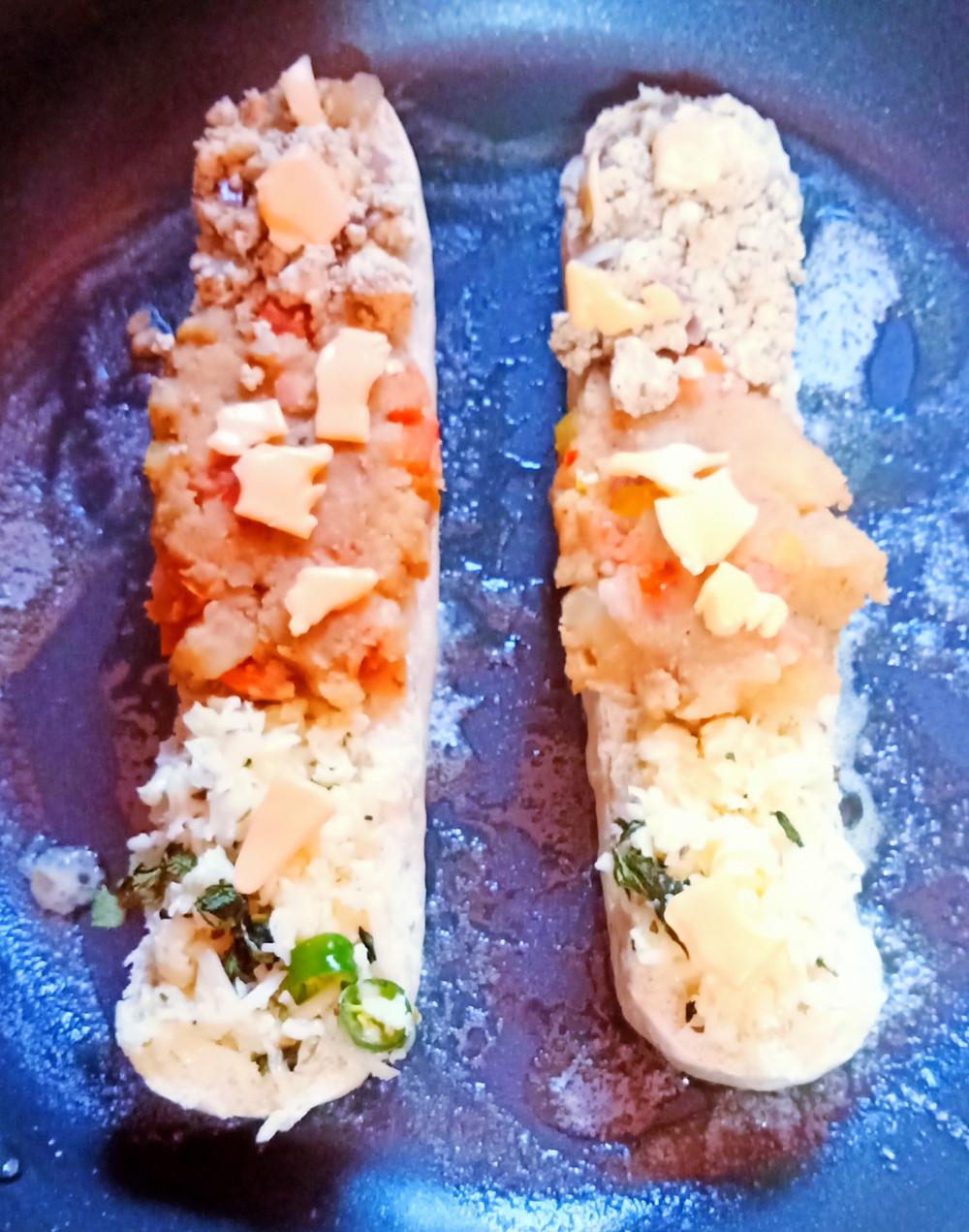 Toasted Hotdog | Chatpata Hotdog | Spicy Hotdog |  Veg Combination Hotdog | by Sandipta's Cookery