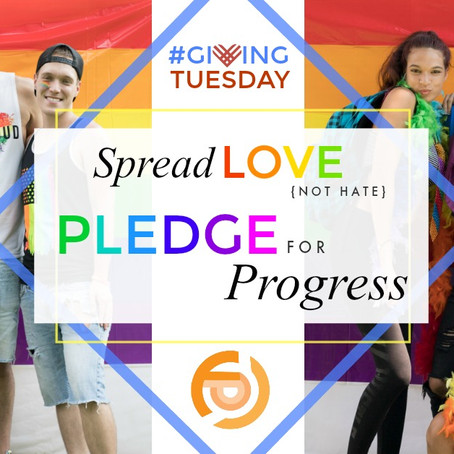 Giving Tuesday: Pledge for Progress Fundraising Campaign