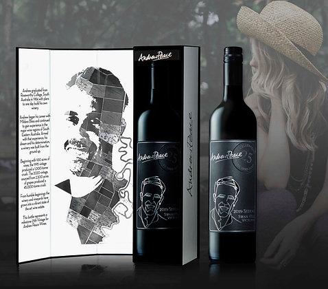 25th Anniversary Shiraz six bottle gift box