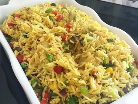 Fried Basmati Rice...
