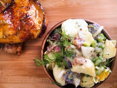 Summer Potato, Egg & Bacon Salad...