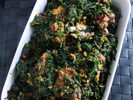 Vegetable Soup (Ofe Akwukwo)...