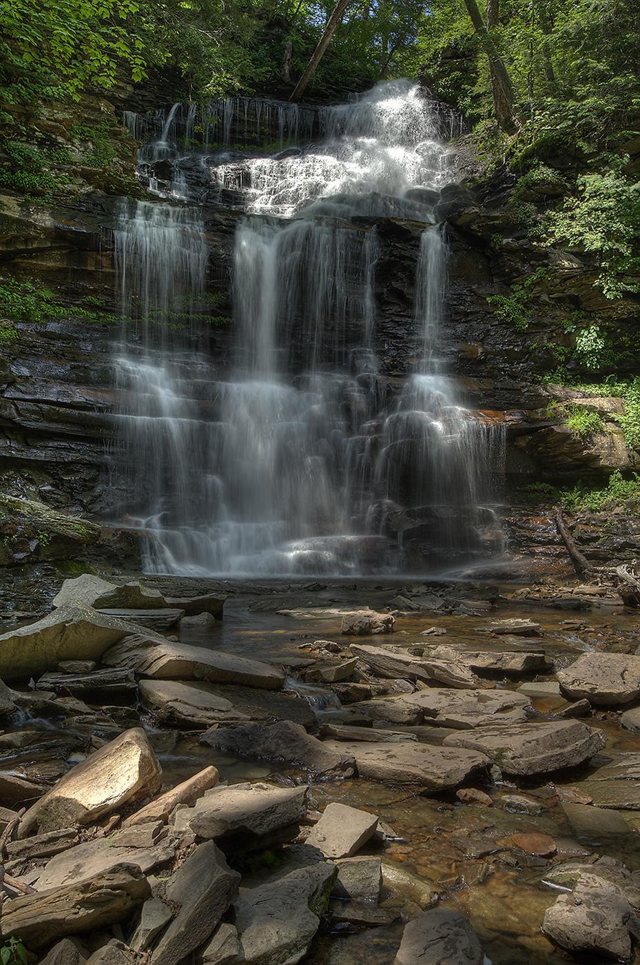 Ricketts's Glenn State Park, PA