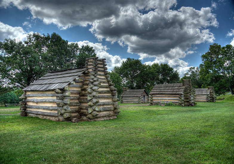 LOG CABIN AT VALLEY FORGE STATE PARK PA img#100732