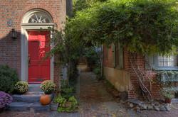Elfreth's Alley, Phila., PA