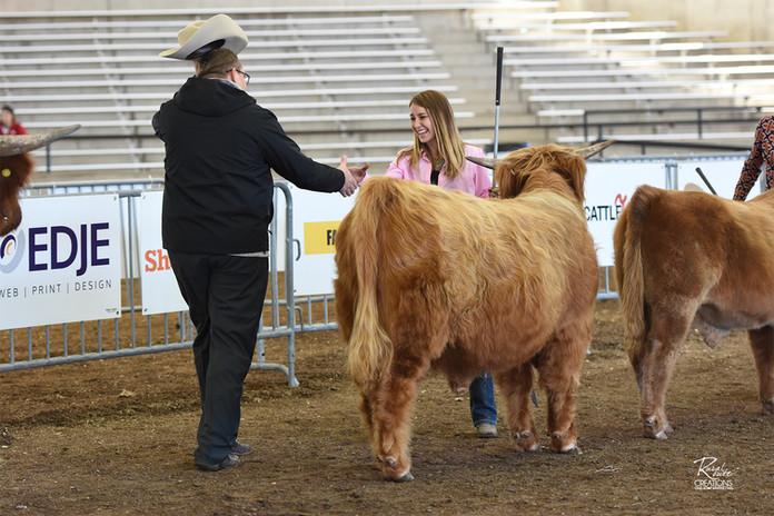 Winning World Beef Expo in 2018