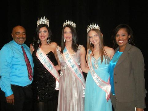 Meet the new 2013 Miss Art Deco Pageant Titleholders