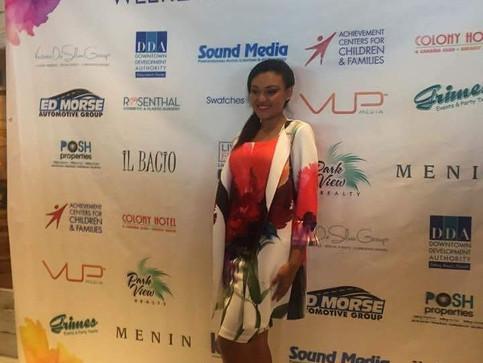 Miss Teen Art Deco at Delray Beach Fashion Week