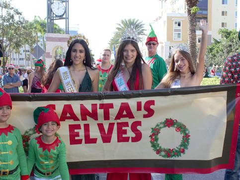 Santa's Parade of Elves
