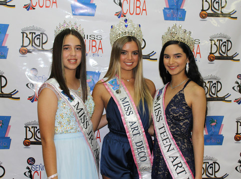 Crowning Ceremony Miss Art Deco 2020 queens