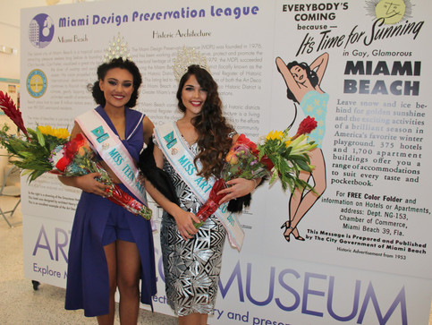 Crowning Ceremony Miss Art Deco 2017