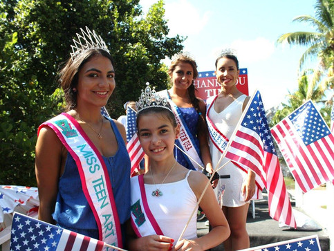 Key Biscayne 4th of July Parade