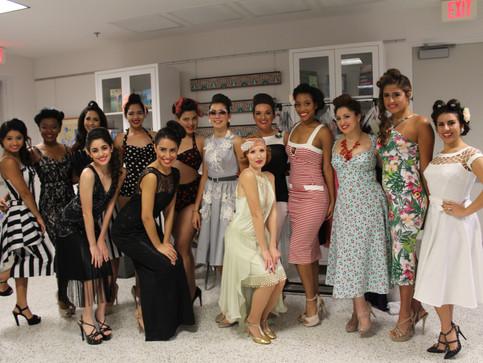 Sixth Annual Art Deco Weekend Fashion Show