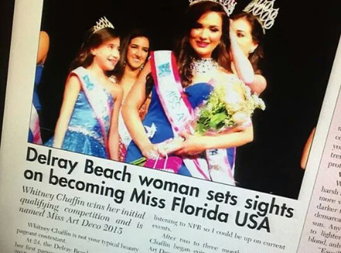 Miss Art Deco 2015 featured in Sun Sentinel