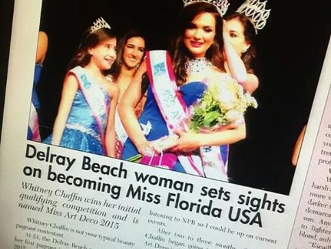 Miss Art Deco 2015 featured in Sun Sentinel