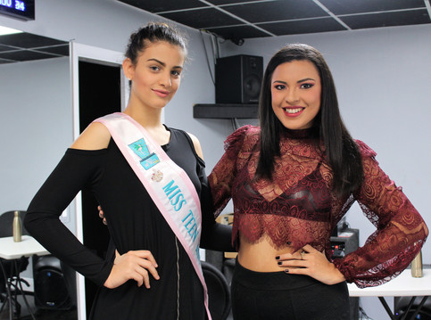 Miss Teen Art Deco gets invited to Taller en Accion