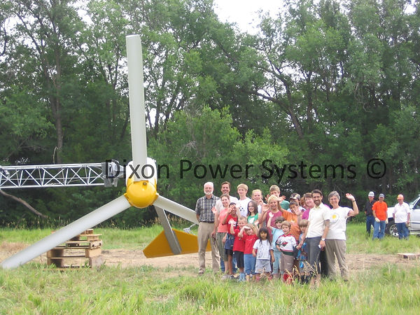 small wind in Nebraska by Dixon Power Systems