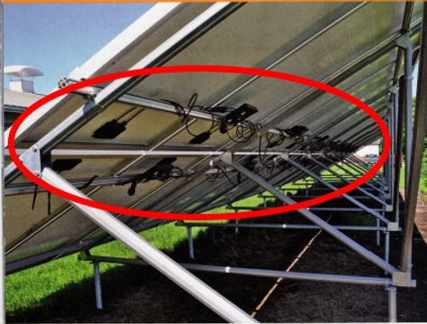 unprotected PV wire