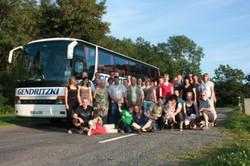 Ein Jubiläumsausflug mit dem Reisebus....
