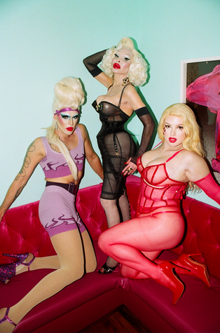 """CT Hedden, Amanda Lepore and Blaire Spicer at """"It's Giving Pony"""" Event at Ponyboy"""