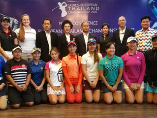 Press Conference Ladies European Thailand Championship 2017
