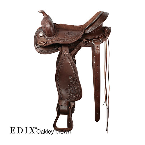 EDIX Oakley Treeless Saddle COMPLETE SET