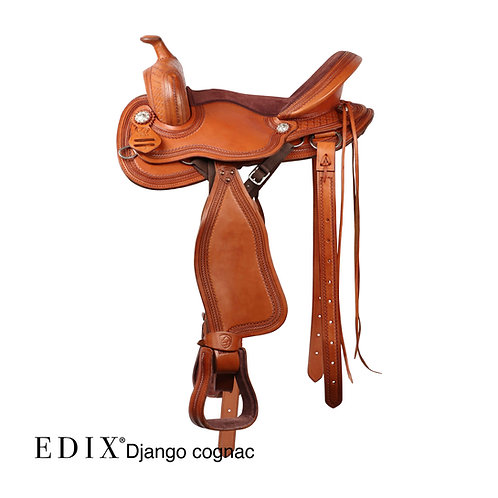 EDIX Django Treeless Saddle COMPLETE SET