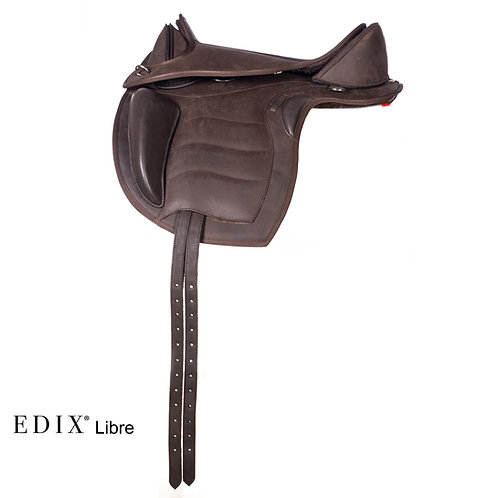 EDIX Libre Treeless Saddle COMPLETE SET