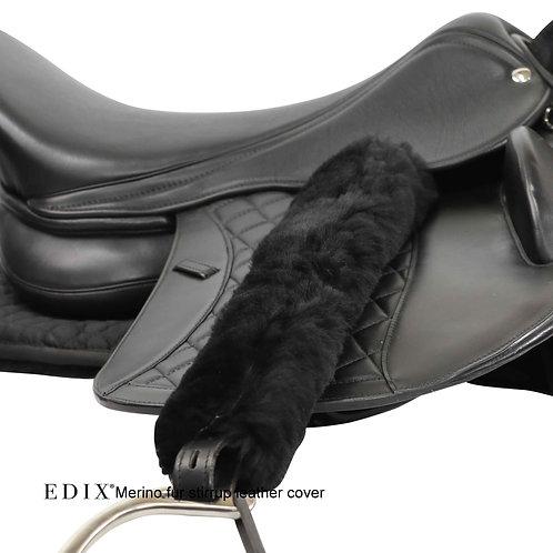 EDIX Merino Wool Stirrup Leather Cover