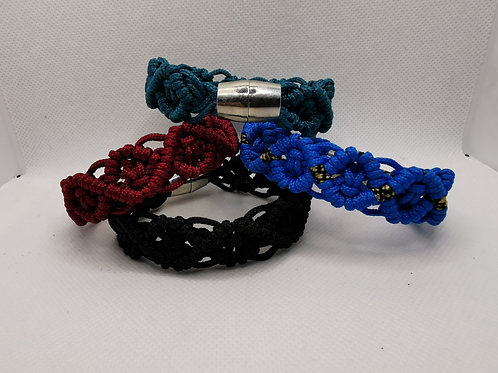 'Shield' Braid Bracelet