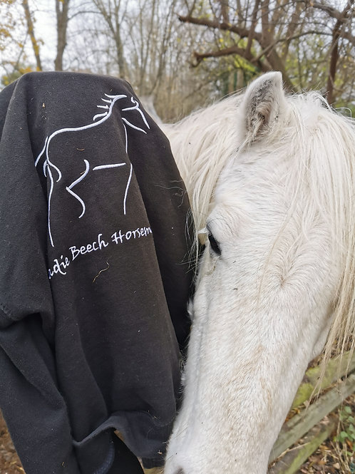 Vintage 'Sadie Beech Horsemanship' Jumper