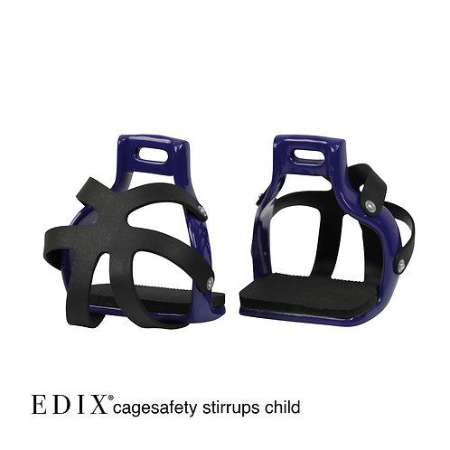 EDIX Children Cage Stirrups