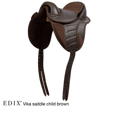 EDIX Childrens Vika Treeless Saddle COMPLETE SET