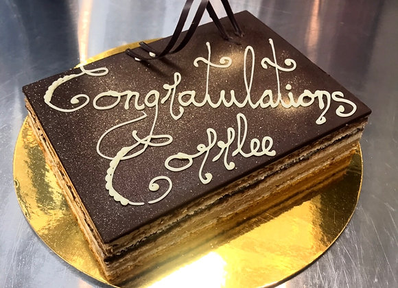 Coffee Opera cake-Big