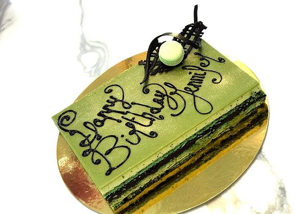 Matcha Opera Cake-Small