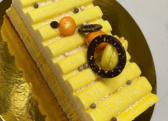 Passionfruit & Mango Cake