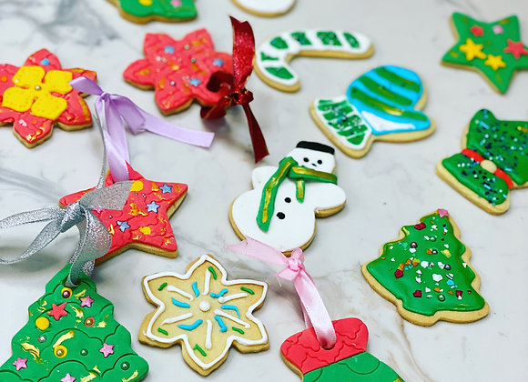 Decorative Christmas Cookie