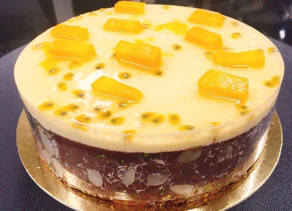 Mango- PassionFruit Cake