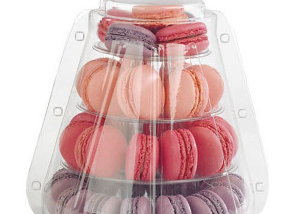 4 Tiers Macaron Tower with gift carrying case