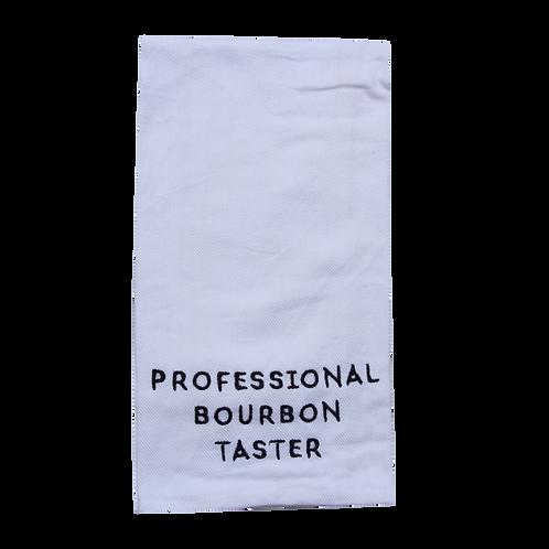 Professional Bourbon Taster Towel