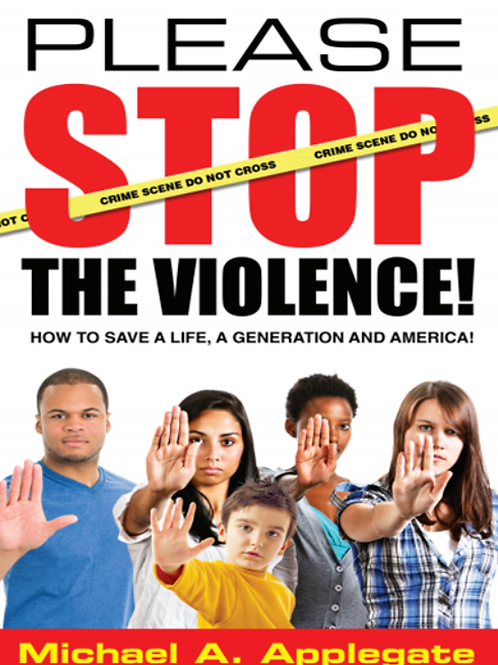 Please Stop the Violence Book