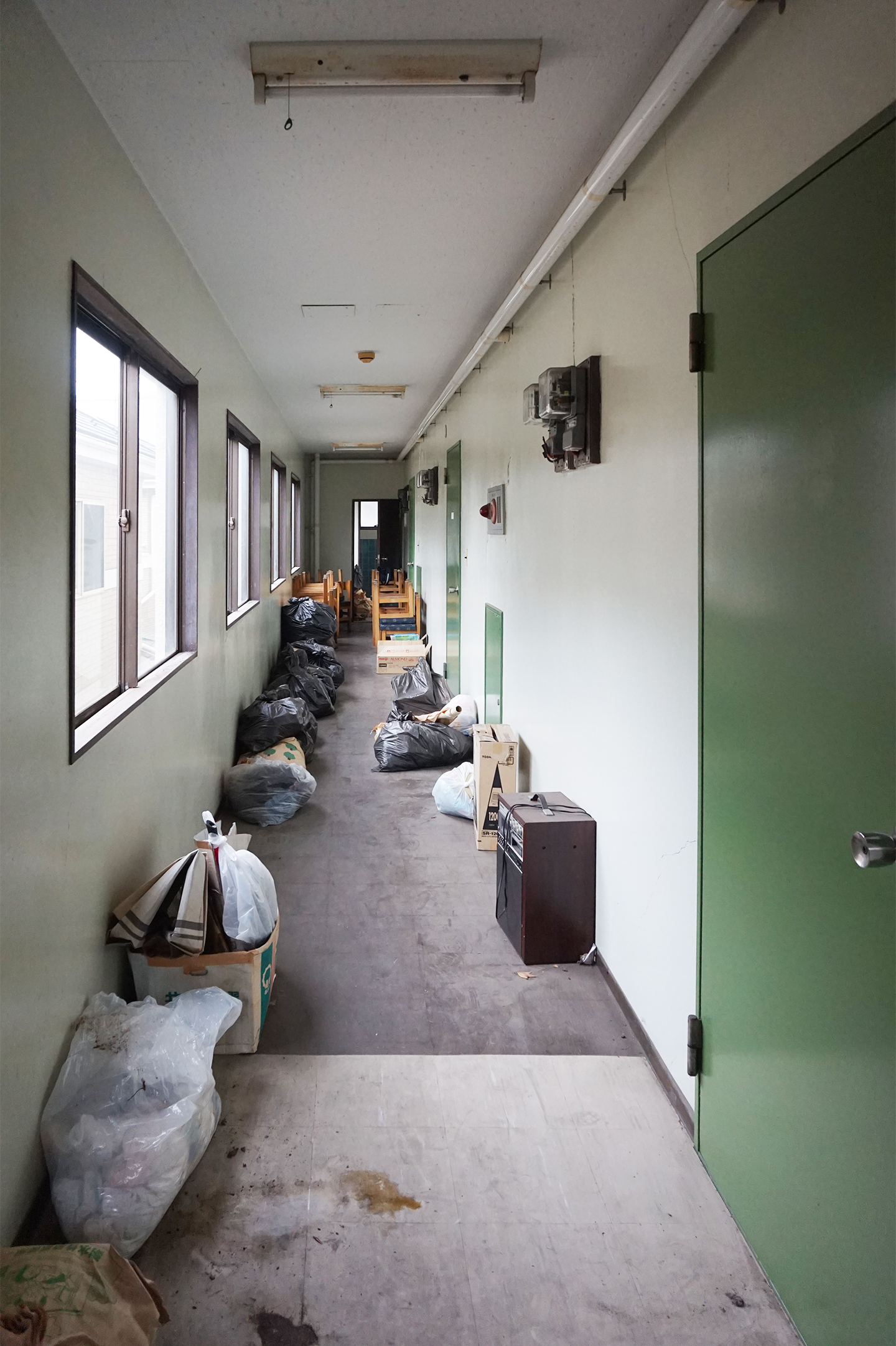 既存共用廊下